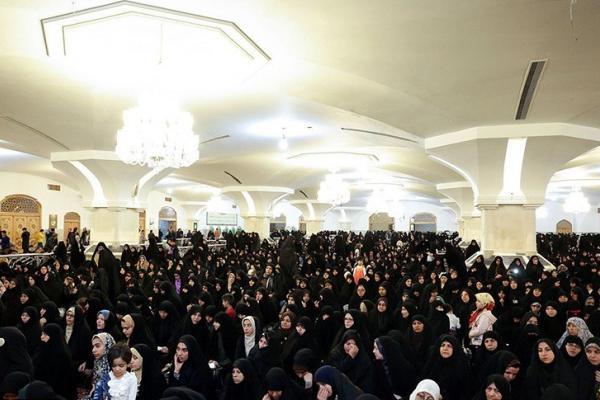 برگزاری جشن دهه ولایت ویژه بانوان در رواق حضرت زهرا(س)