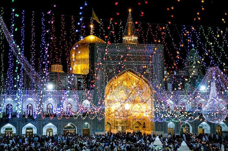 برگزاری جشن عید غدیر خم در آستان مطهر ثامن الائمه (ع)