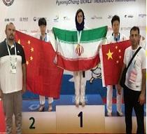 درخشش ورزشکار استان مرکزی در مسابقات جهانی تکواندو