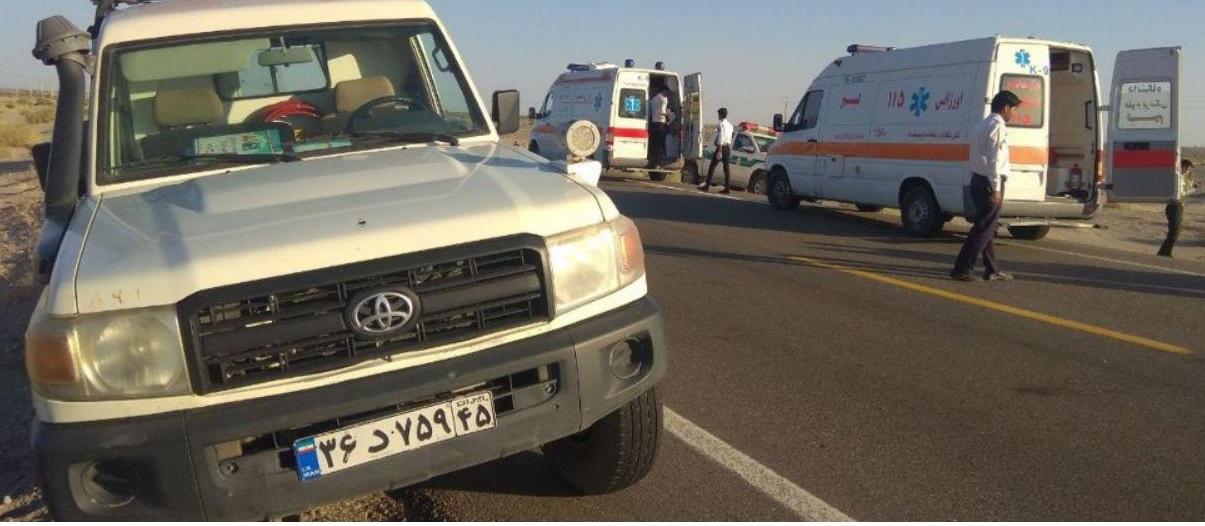 3کشته در تصادف خودروی حامل سوخت وافغانهای غیر مجاز در ریگان