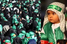 باشکوهترین محفل شیرخوارگان حسینی جهان اسلام