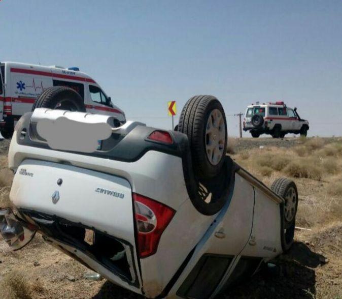یک کشته و پنج مصدوم در حادثه رانندگی در سبزوار