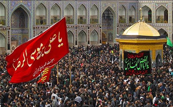 شور حسینی مشهد الرضا در روز تاسوعا