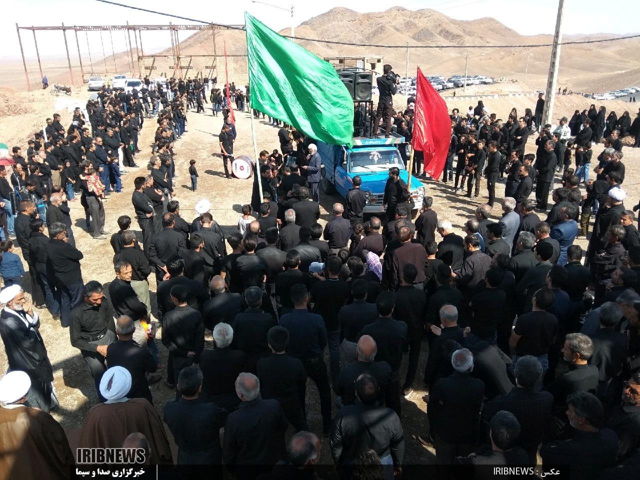 خراسان جنوبی در روز تاسوعای حسینی غرق در ماتم و عزا