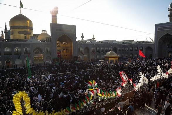 مشهد الرضا امروز در عاشورای حسینی کربلای دیگر