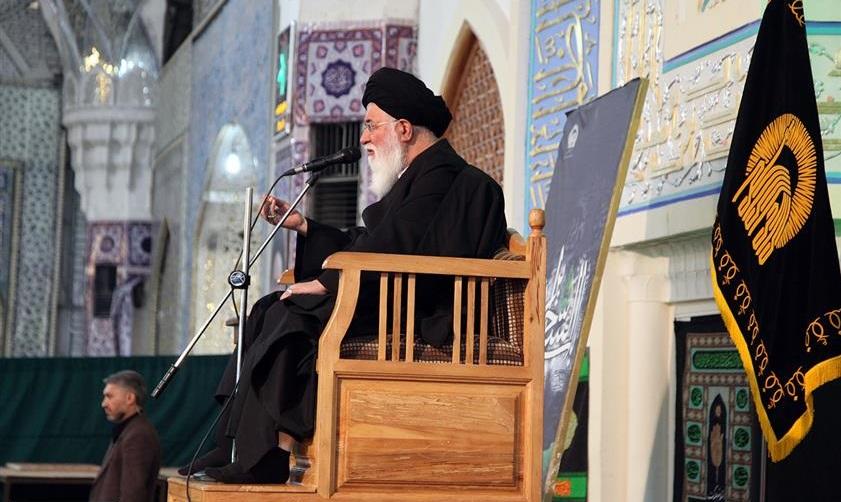برگزاری مقتل خوانی شهدای عاشورا در حرم مطهر رضوی