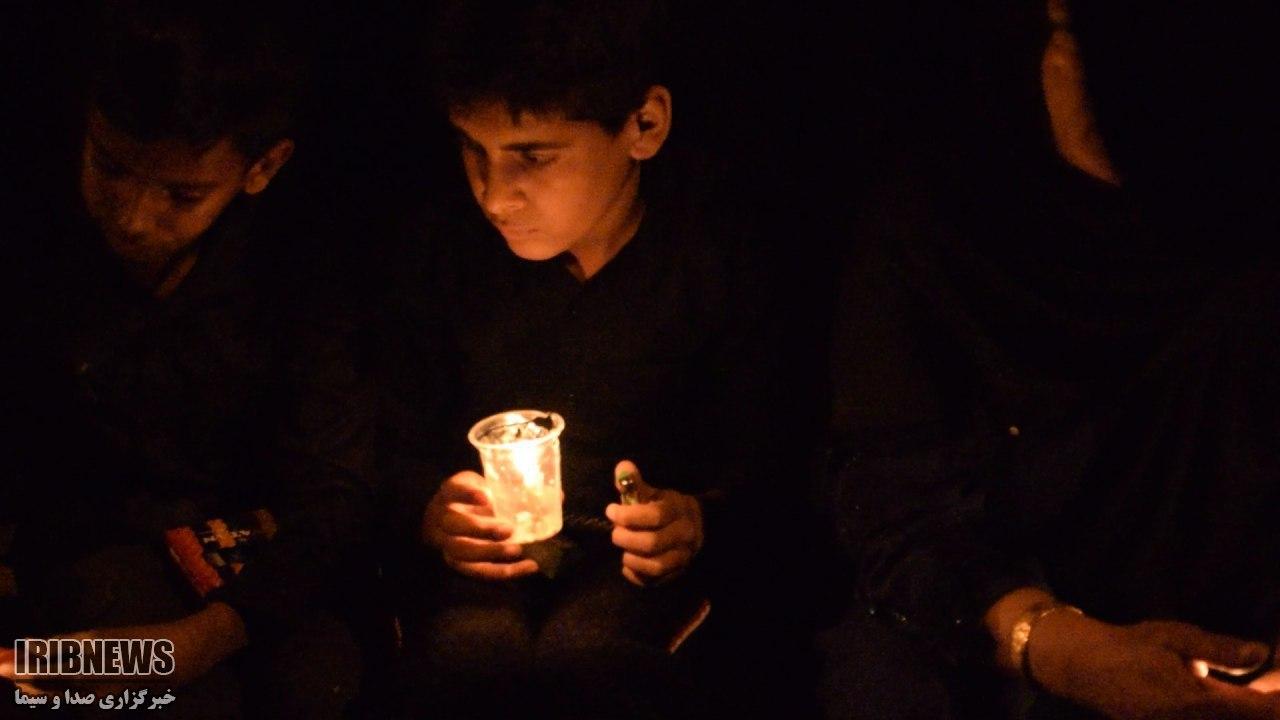 شام غریبان حسینی در کردستان برگزار شد