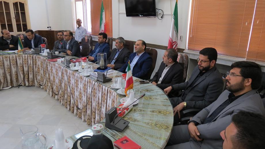 انتصاب محمد حسین نصرتی به عنوان فرماندار جدید نایین
