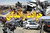 یک کشته و ۴ مجروح بر اثر سانحه رانندگی در محور اسلام آبادغرب به کرمانشاه