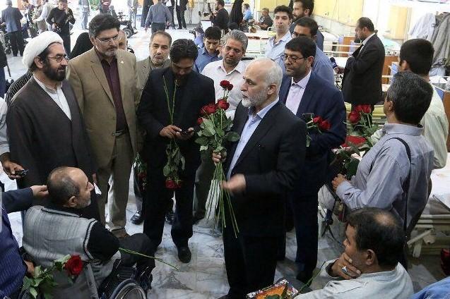 دیدار جمعی از اصحاب رسانه های خراسان رضوی ازجانبازان در مشهد