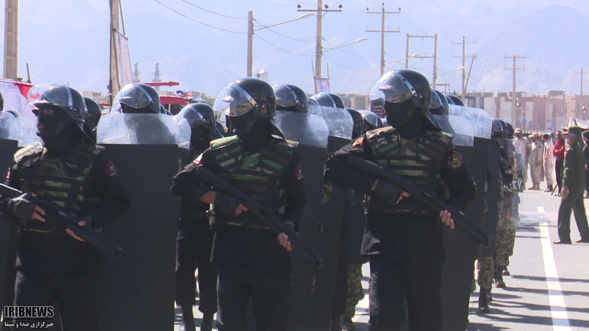 آغاز نمایش اقتدار نیروهای مسلح، در خراسان جنوبی