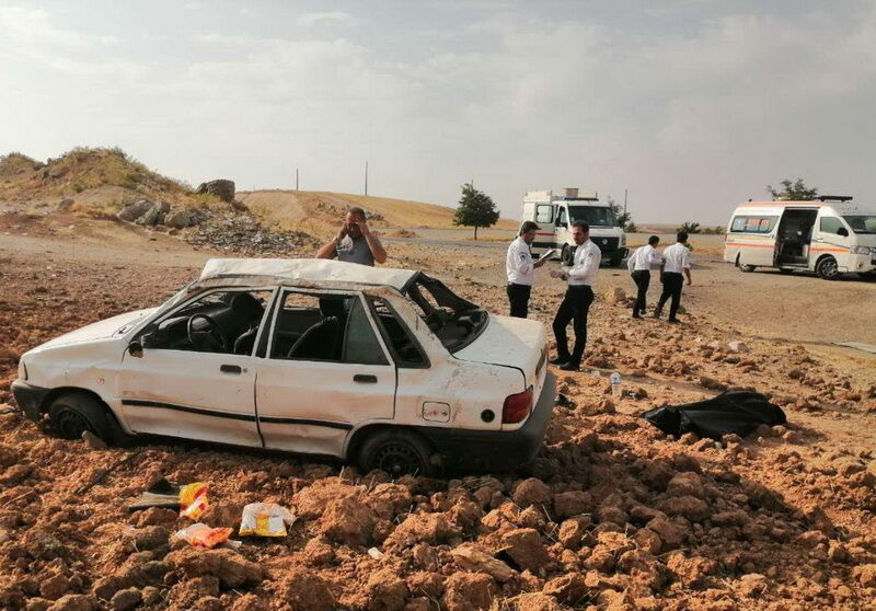 7 مصدوم در پی سانحه رانندگی در بجستان