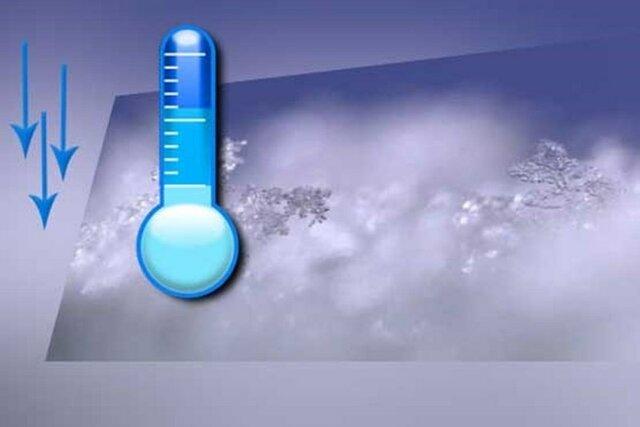 کاهش 7 درجه ای میانگین دما در خراسان رضوی
