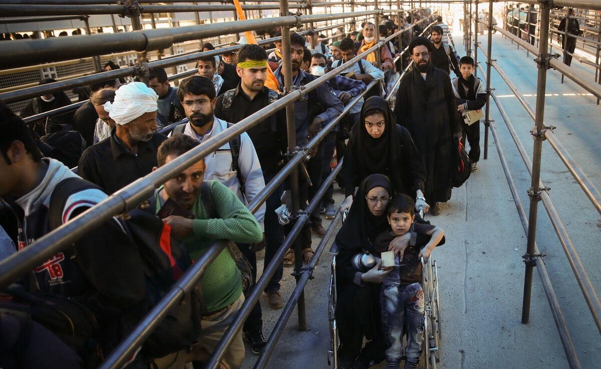 اعزام 110 هزار تبعه خارجی از طریق خراسان رضوی به مراسم راهپیمایی اربعین حسینی