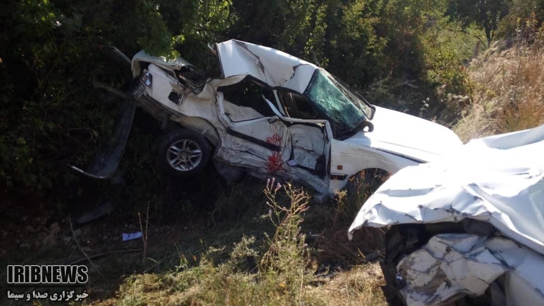 یک کشته و 7 مصدوم در تصادف محور یاسوج به شیراز