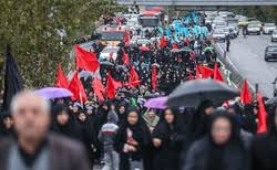 برگزاری پیاده روی جاماندگان اربعین در نیشابور