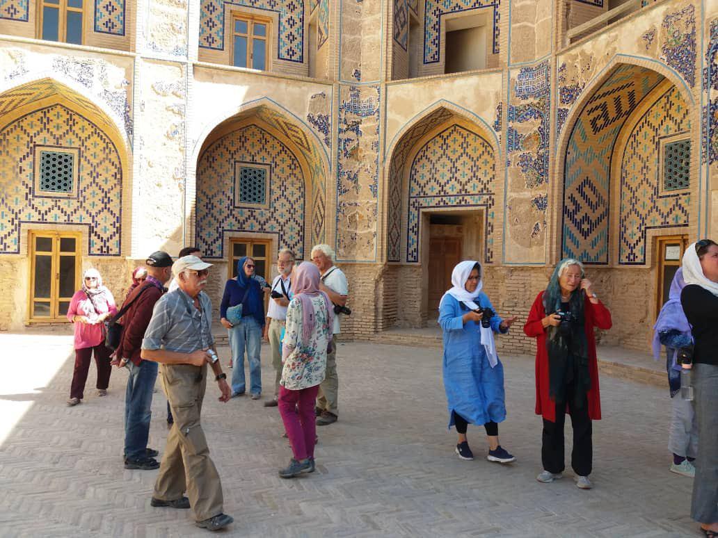 ورود تور گردشگران اروپایی به خواف