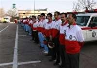 ارائه خدمات امدادی به زائران اربعین حسینی
