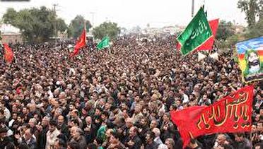 راهپیمایی پر شور اربعین دزفول مستند می شود