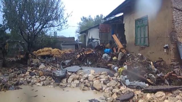 ابگرفتگی چند روستا در گلوگاه بر اثر حجم زیاد بارشها