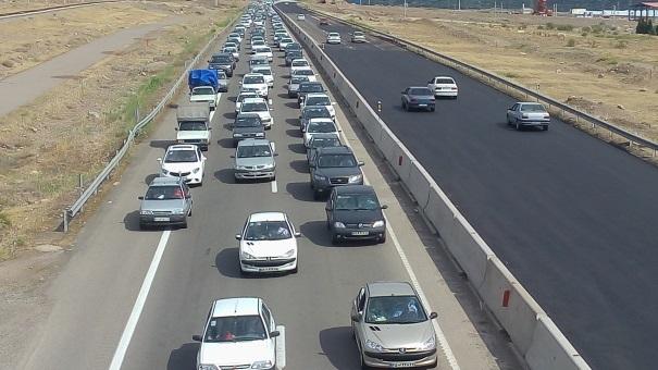 ترافیک روان حاکم بر جادههای گیلان