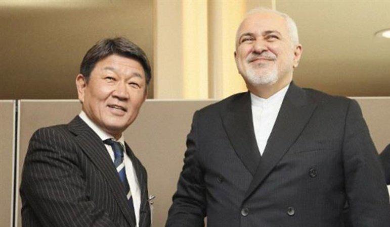 گفتگوی وزیران امور خارجه ایران و ژاپن