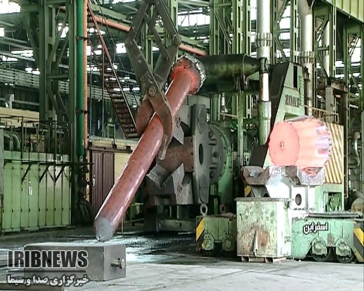 مجتمع فولاد اسفراين در خدمت صنعت ريلي کشور