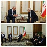 دیدار معاون وزیر خارجه گرجستان با ظریف