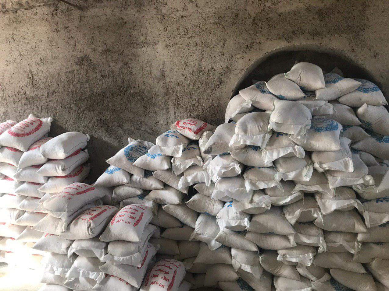 کشف برنج های  احتکار شده در رستاق