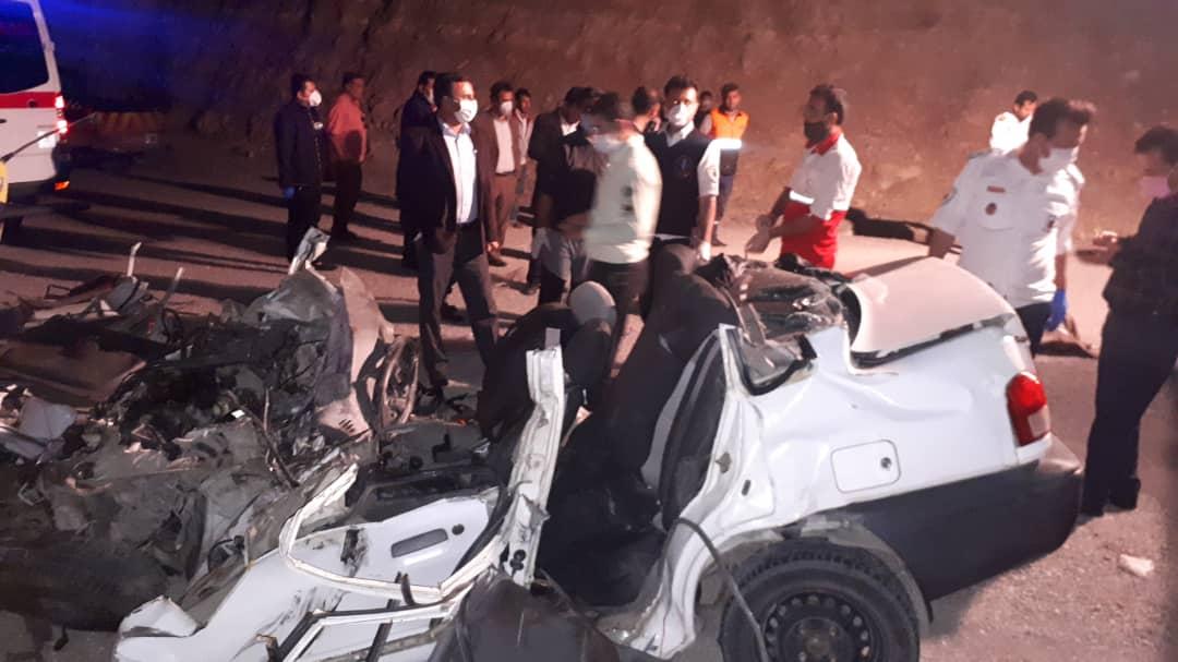 تصادف مرگبار در جاده شیراز _گچساران