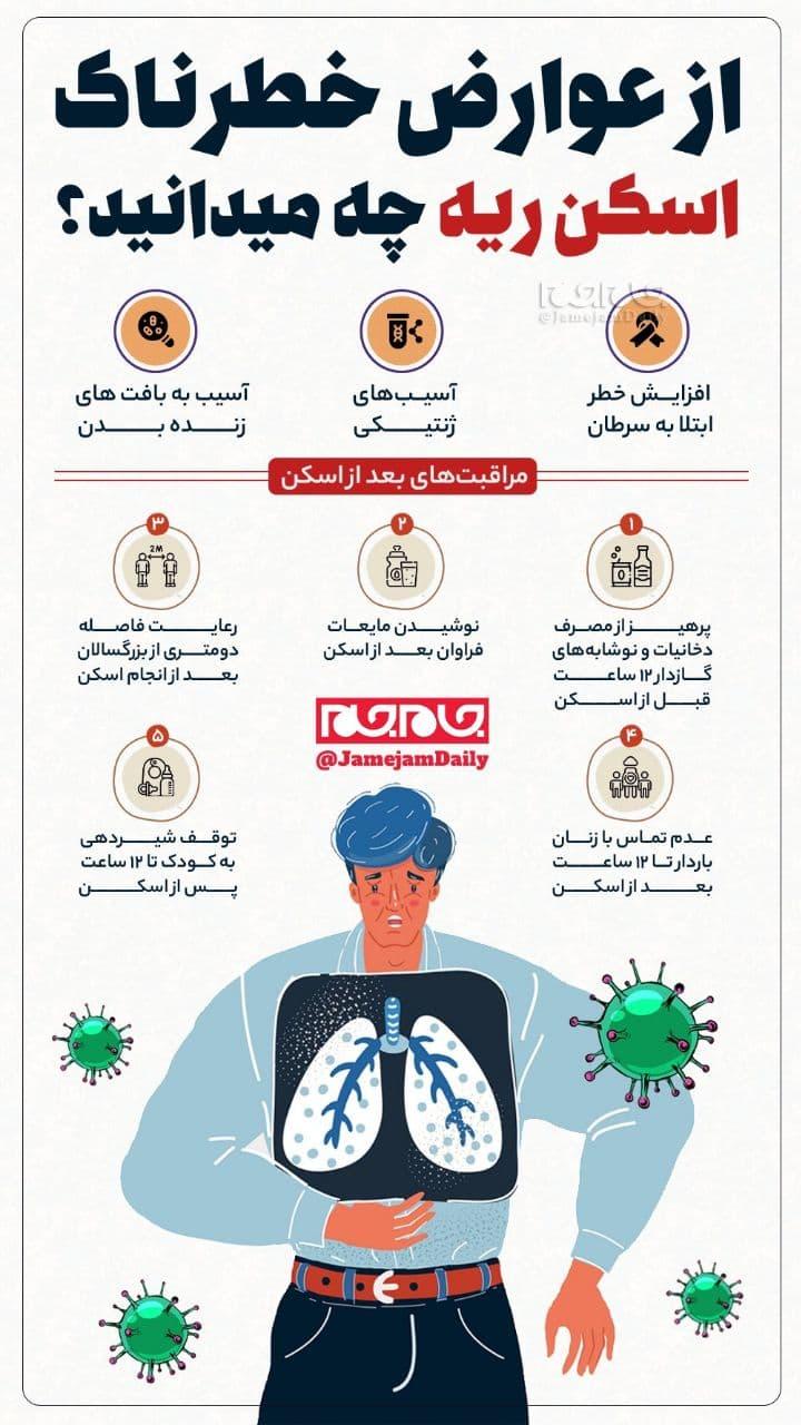 اسکن ریه چه عوارض خطرناکی دارد؟