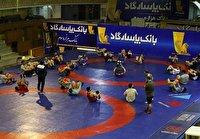 فرنگی کاران مازندران در اردوی تیم ملی کشتی