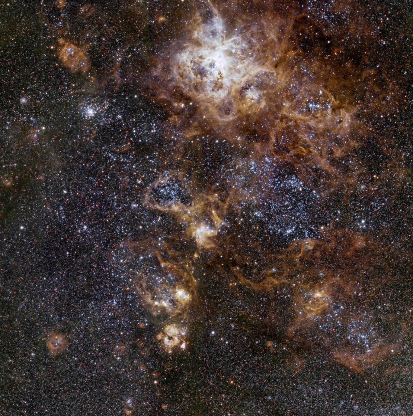ستاره شناسان شاهد مرگ کهکشان هستند