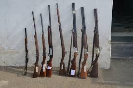 كشف و ضبط 8 سلاح شکاری و لاشه یک گراز