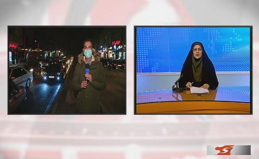کرونا و خیابان های شلوغ قزوین + فیلم