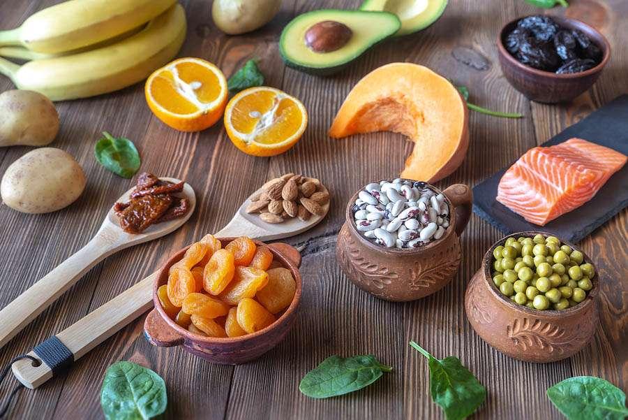 اهمیت پتاسیم در رژیم غذایی