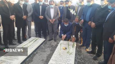 افتتاح مخزن چهارهزار متر مکعبی آب آشامیدنی رابر