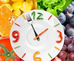 بهترین زمان خوردن میوه و غذا