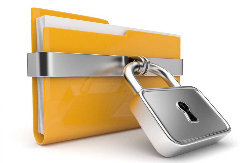 قفل پوشه بدون نرمافزار
