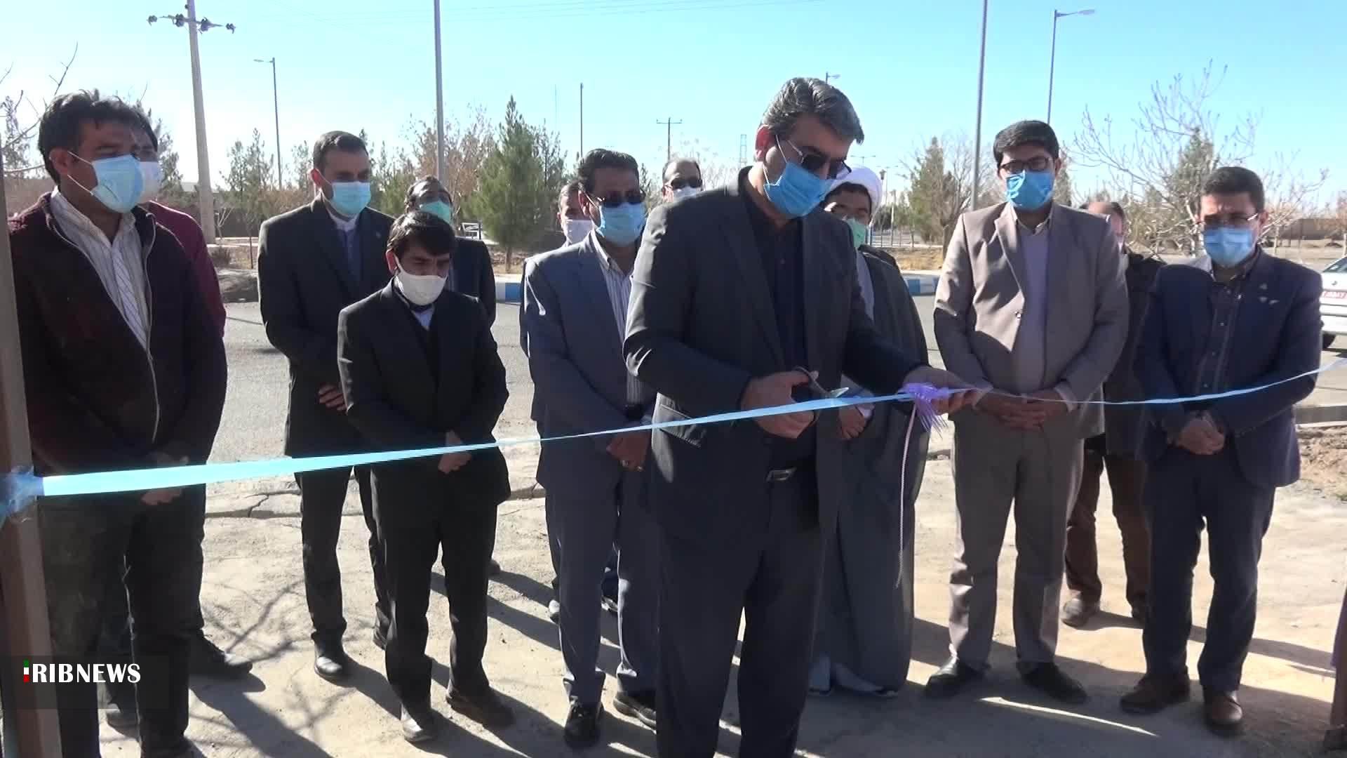 افتتاح آمفی تئاتر روباز در سرایان