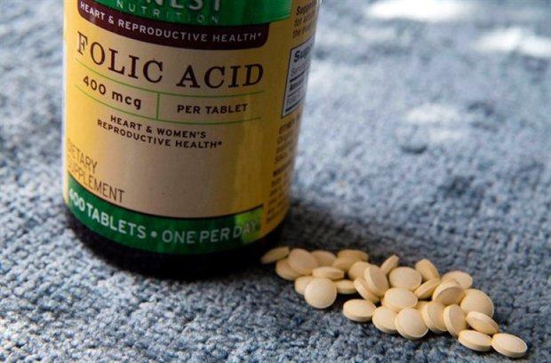 کاهش نارسایی قلبی هنگام تولد با مصرف اسیدفولیک
