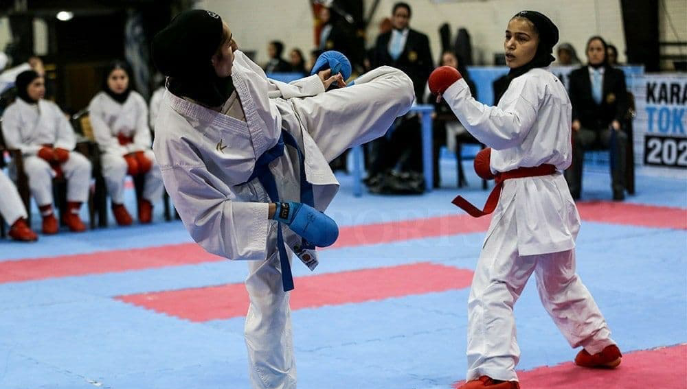 تعویق در برگزاری سوپرلیگ کاراته بانوان