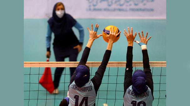 ادامه تمرینات بانوان والیبالیست منتخب مهاجران افغان