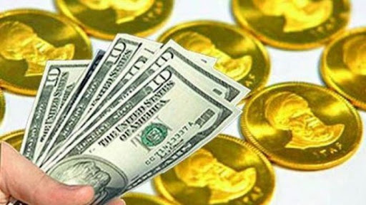 کاهش قیمت سکه و دلار