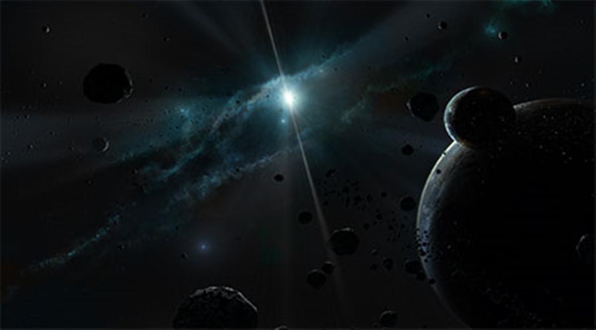 تاریکی فضا تا چه حد است؟