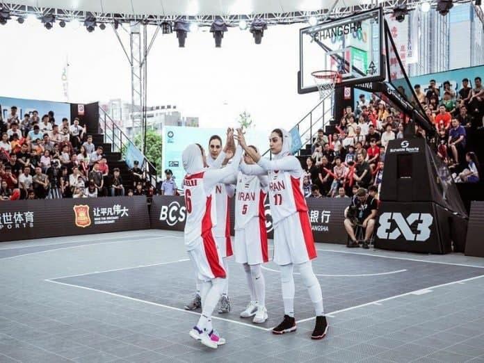 رقابت تیم بسکتبال سه نفره بانوان برای سهمیه المپیک