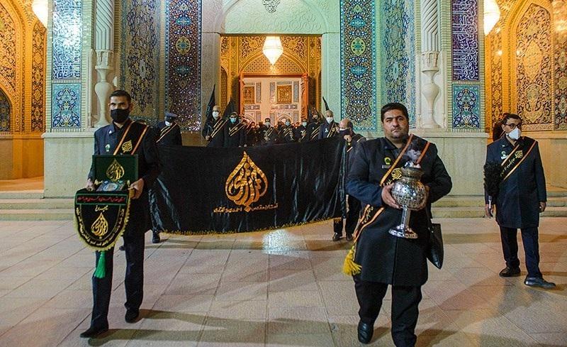 برگزاری مراسم راهپیمایی به مناسبت شهادت امام موسی کاظم (ع) در شیراز
