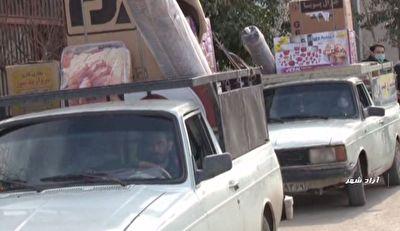 اهداء جهیزیه در آزادشهر