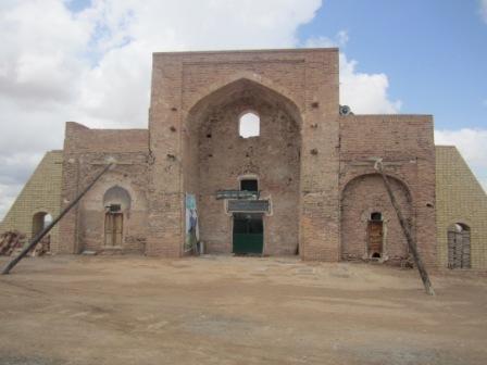 خسارت 210میلیون تومانی بارندگی به بناهای تاریخی اسفراین