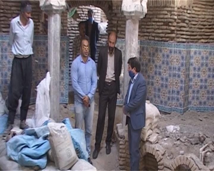 مرمت و بازسازی دو حمام تاریخی در گلپایگان